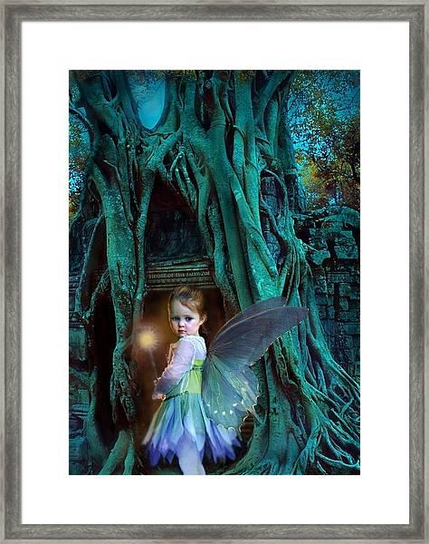 When Twilight Fades Framed Print