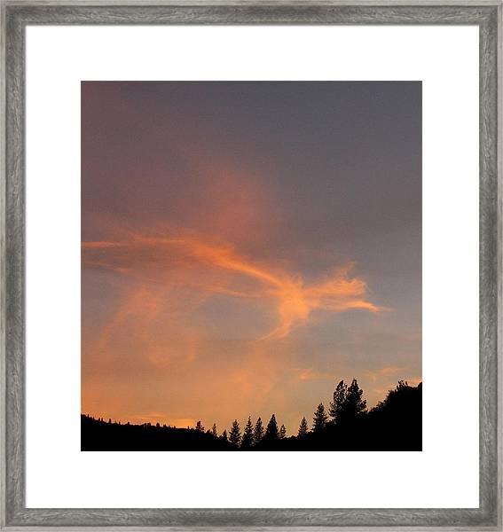 Where Angels Dance Framed Print
