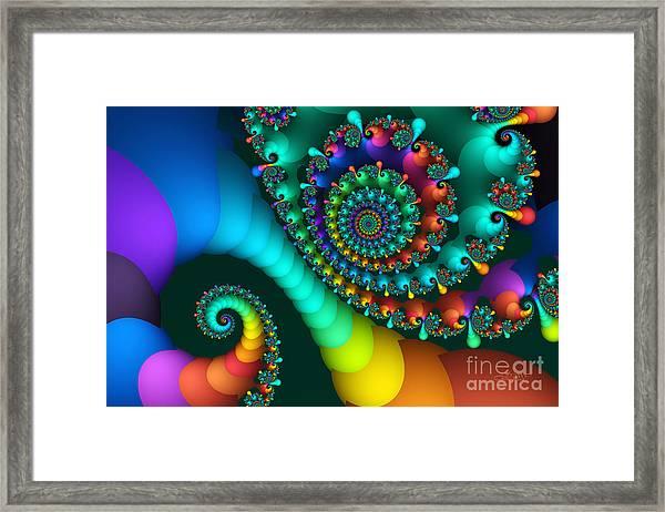 Where Rainbows Are Made Framed Print