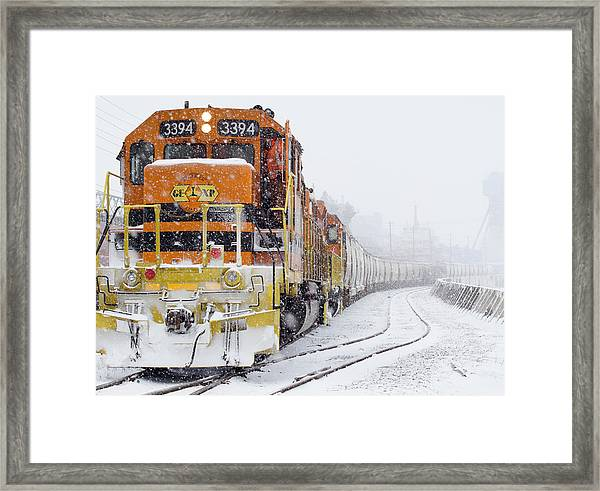 Where They Go No One Knows Framed Print