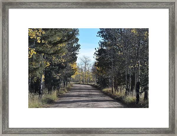 Cr 511 Divide Co Framed Print