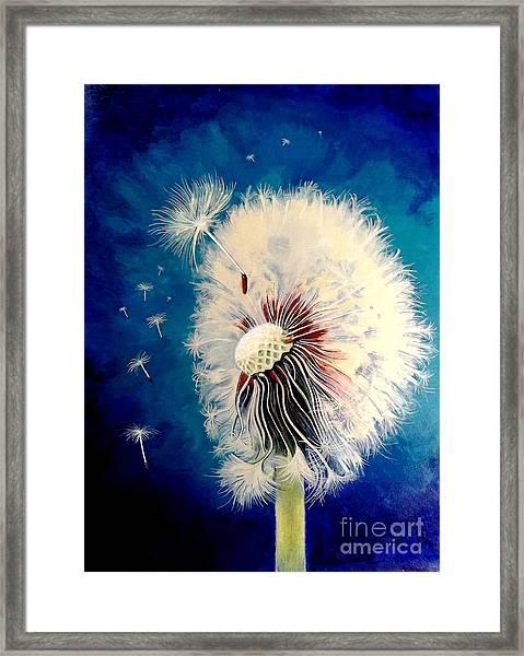 Wherever The Wind Takes Me Framed Print