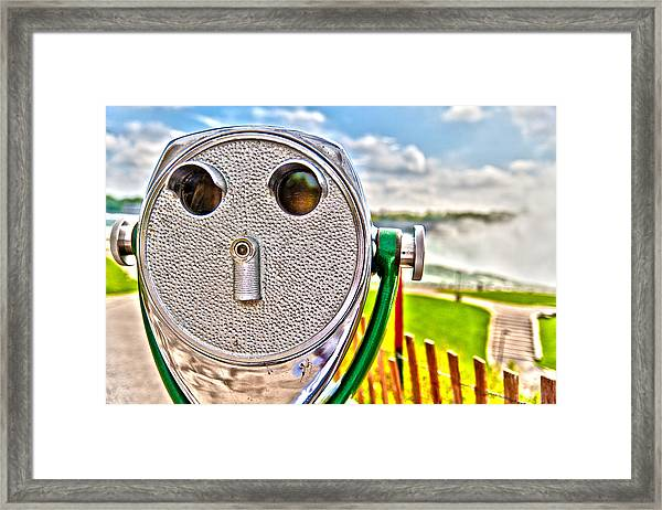 Whimsical View Framed Print