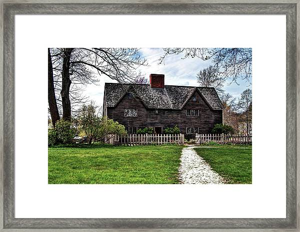 The John Whipple House In Ipswich Framed Print