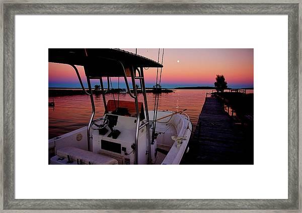 Whiskey Bay Framed Print