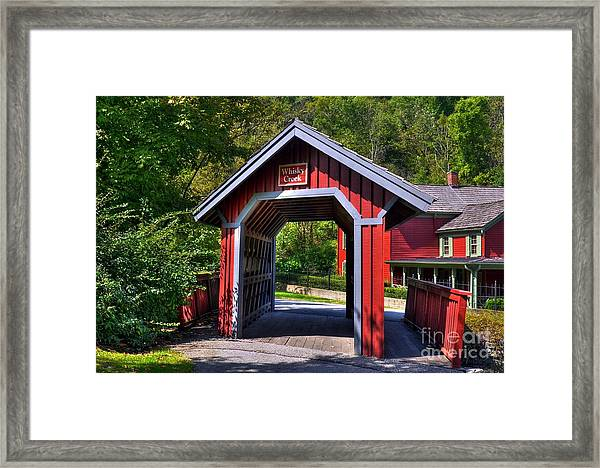 Framed Print featuring the photograph Whisky Creek by Mel Steinhauer