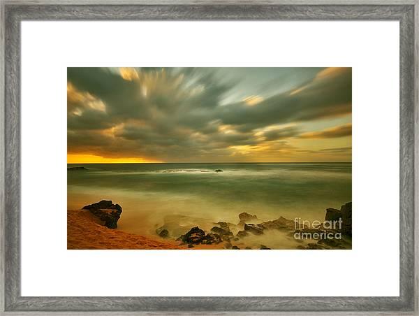 Whispering Sunset Framed Print