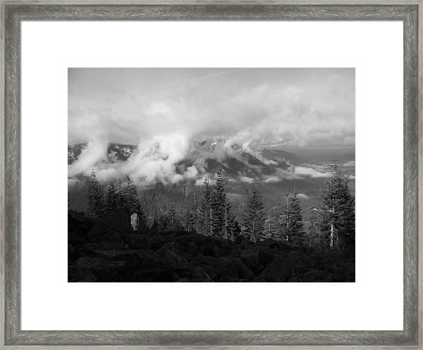 Whispy Framed Print by Mark Camp