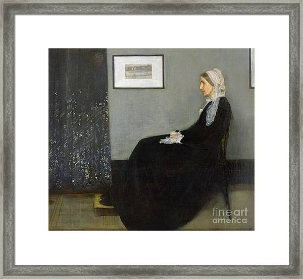 Whistlers Mother Framed Print