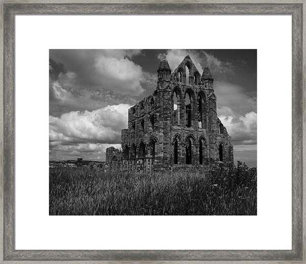 Whitby Abbey, North York Moors Framed Print