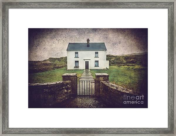 White House Of Aran Island I Framed Print