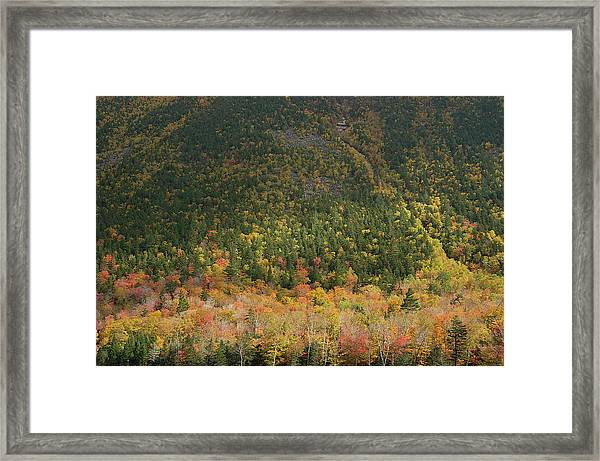 White Mountain Framed Print