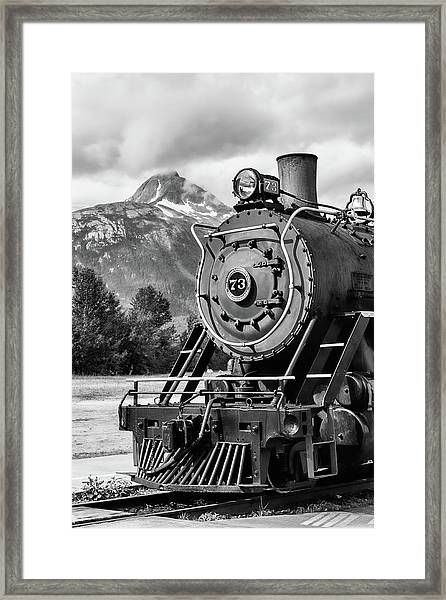 White Pass Railway Engine 73 Framed Print