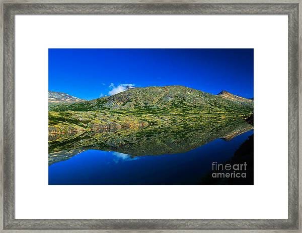 Framed Print featuring the photograph White Pass Reflections by Scott and Amanda Anderson