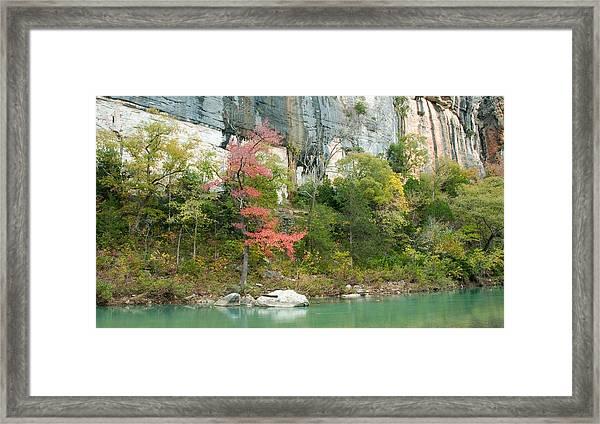 White River Arkansas Framed Print