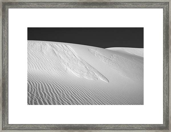 White Sands 2 Framed Print