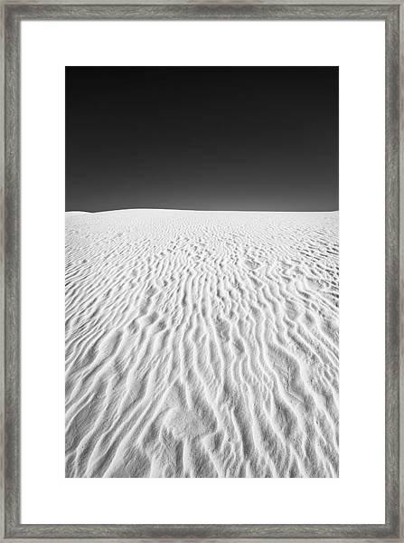White Sands 3 Framed Print