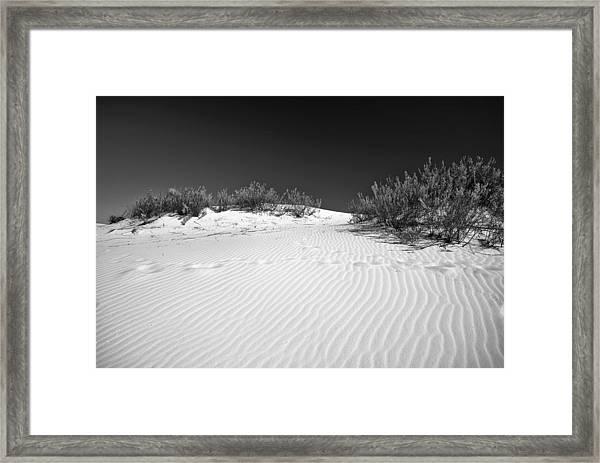White Sands 5 Framed Print