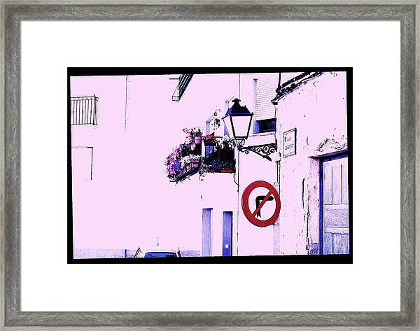 Framed Print featuring the photograph White Wash by HweeYen Ong