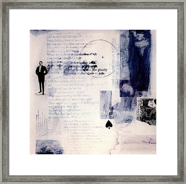 Whiter Shade Of Pale Framed Print by Peter Stephen Wise