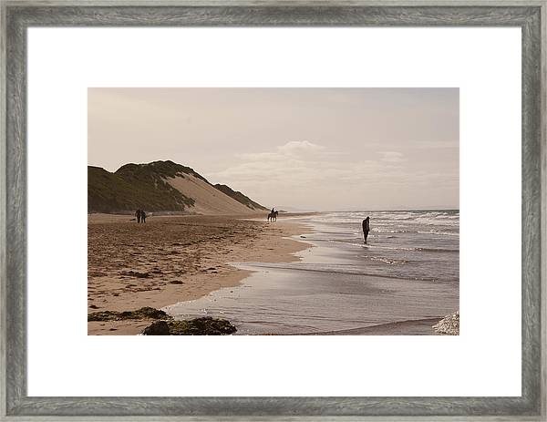 Whiterocks Beach Framed Print