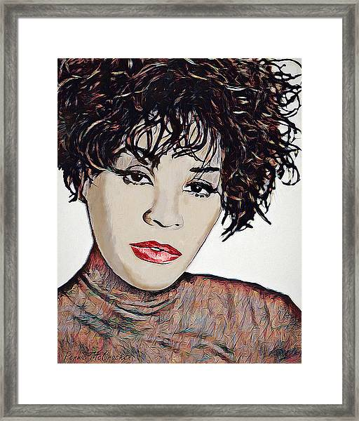 Whitney Framed Print