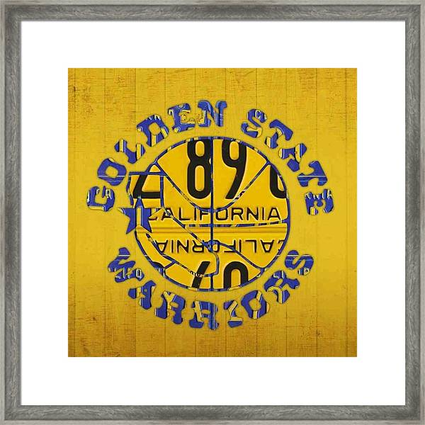 Who Are You Rooting For In The #nba Framed Print