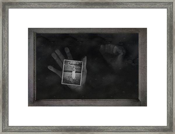 Why Did You Leave Me Framed Print