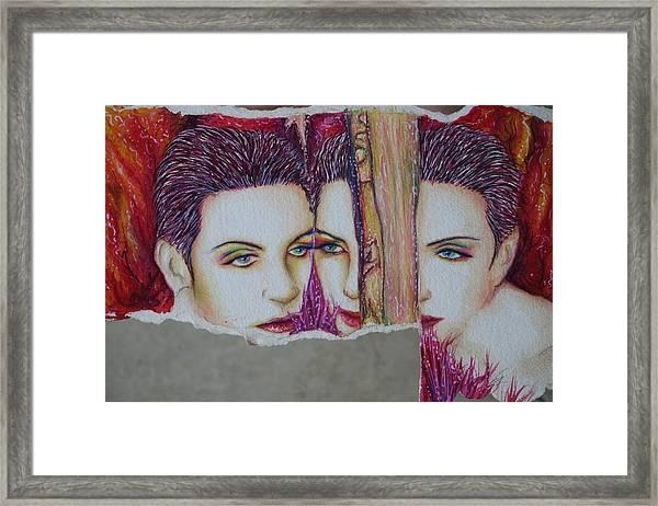 Why Framed Print by Joseph Lawrence Vasile
