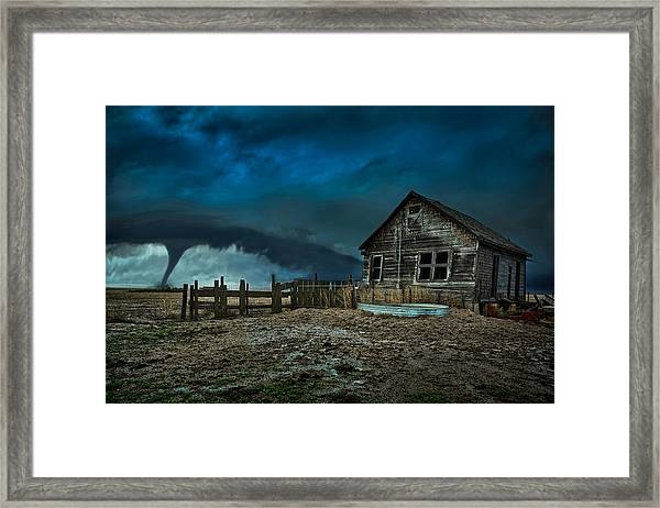 Wicked Framed Print by Thomas Zimmerman
