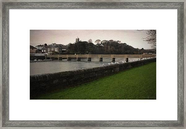 Wicklow Footbridge Framed Print