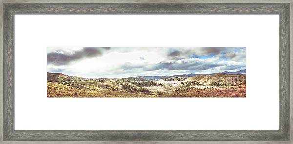 Wide Open Country Australia Framed Print
