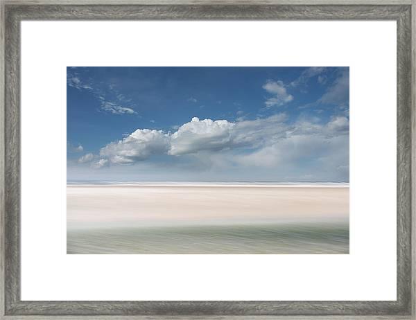 Wide Open Framed Print