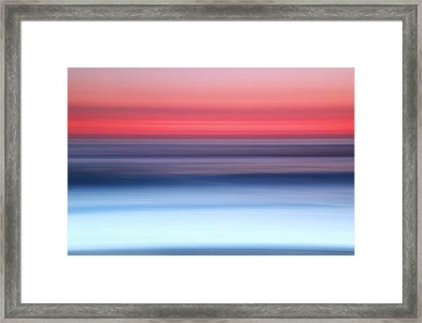 Widemouth, Bude, Cornwall Uk, Impressionism D Framed Print