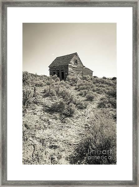 Widtsoe Utah Ghost Town Framed Print