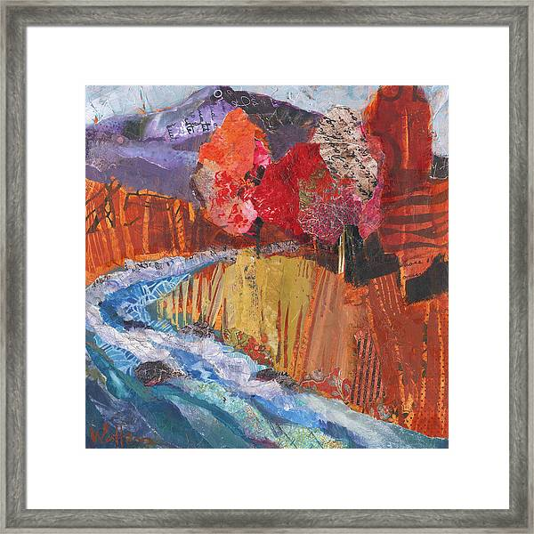 Framed Print featuring the painting Wild And Scenic by Shelli Walters