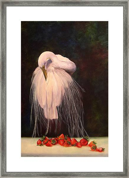 Wild And Sweet 1 Framed Print by Valerie Aune
