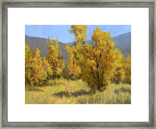 Wild Autumn Framed Print