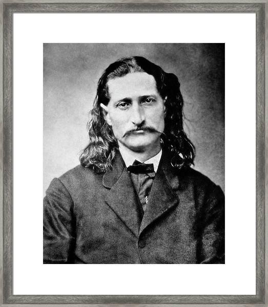 Wild Bill Hickok - American Gunfighter Legend Framed Print