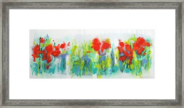 Wild Garden Framed Print