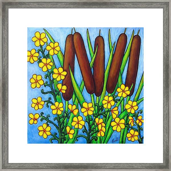 Wild Medley Framed Print