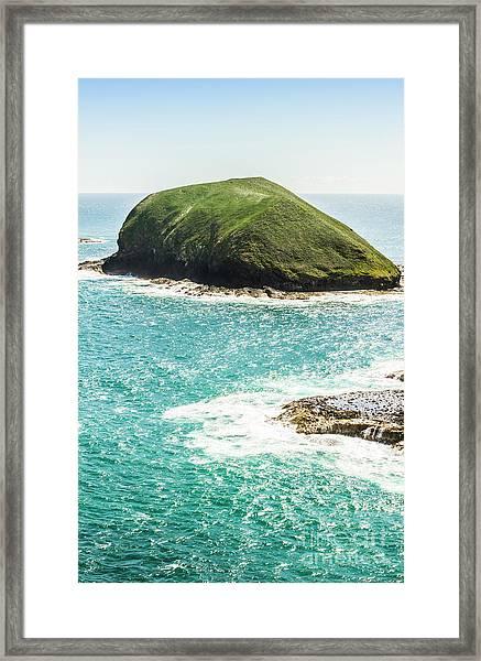 Wild Western Waters Framed Print