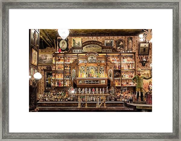 Wilde Times Framed Print