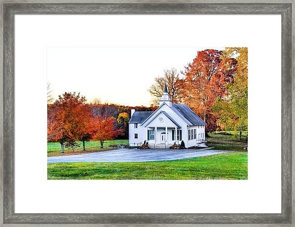 Wilderness Church Framed Print