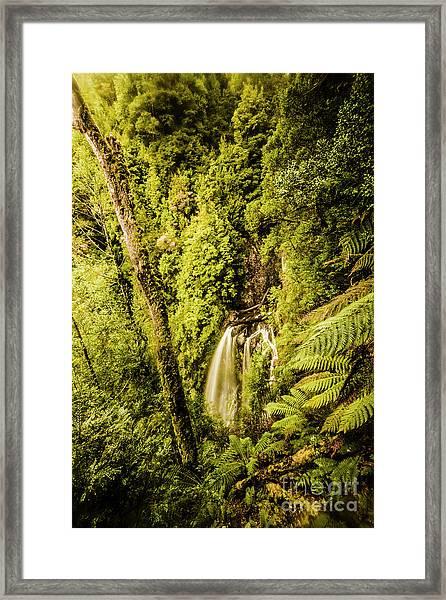 Wilderness Falls Framed Print