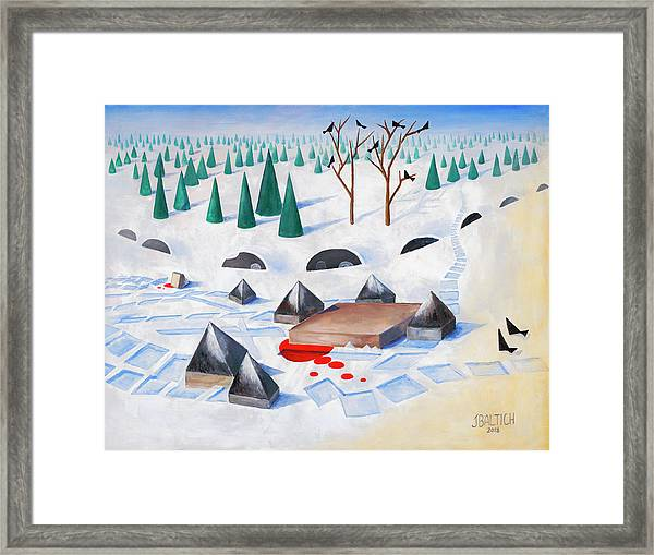 Wilderness Perception Framed Print