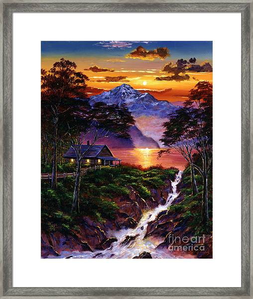 Wilderness Spirit Framed Print by David Lloyd Glover