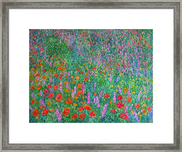 Wildflower Current Framed Print