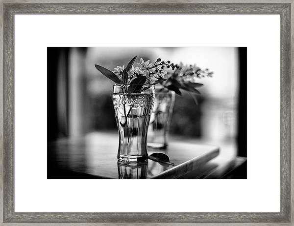 Wildflowers Still Life Framed Print