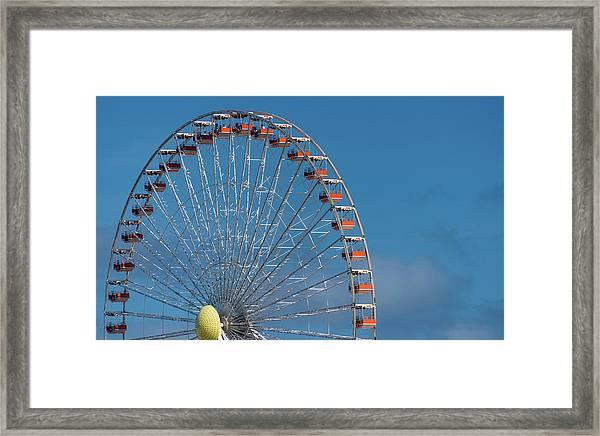 Wildwood Ferris Wheel Framed Print